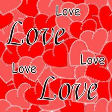 Free Seamless Valentine Stock Images - 3810284