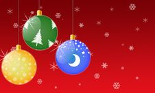 Free Christmas Decorations Stock Photography - 3810542