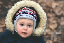 Free Portrait Of A Baby Boy Stock Images - 3810604