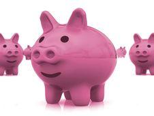 Free Piggy Bank Stock Photography - 3812322