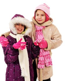 Free Snow Friends Stock Photo - 3812360