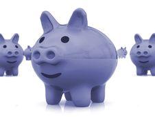 Free Piggy Bank Royalty Free Stock Photo - 3812395