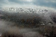 Free Winter Mountains Stock Image - 3812551