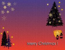 Free Christmas Card Royalty Free Stock Image - 3812556