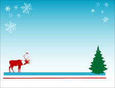 Free Abstract Christmas Card Royalty Free Stock Images - 3812679