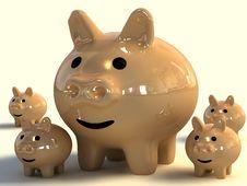 Free Piggy Bank Stock Photo - 3813010