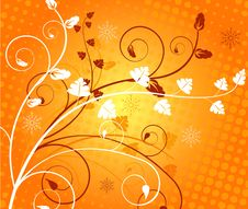 Free Floral Background - Royalty Free Stock Photo - 3813735