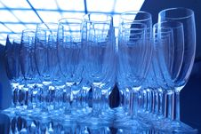 Free Champagne Glasses Stock Image - 3813931