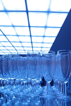 Free Champagne Glasses Stock Photography - 3813952