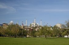 Free The View Of Blue Mosque Stock Photo - 3814160