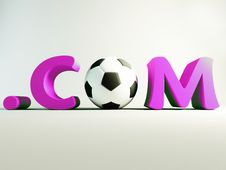 Free Com Football Stock Photography - 3814632
