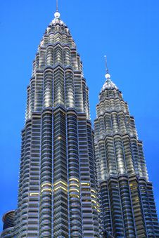 KLCC In The Night Royalty Free Stock Photo