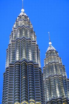Free KLCC In The Night Stock Image - 3815151