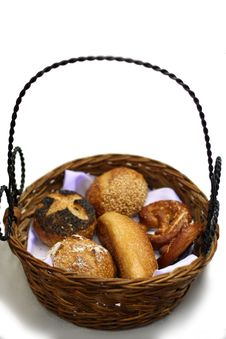 Free Bread Basket Royalty Free Stock Image - 3815566