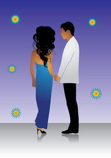 Happy Couple, Love, Valentine Stock Images