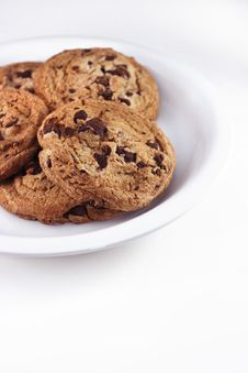 Free Plate Of Cookies Stock Photo - 3816490