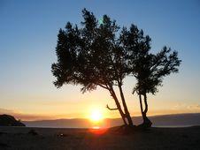 Free Baikal Sunset Stock Image - 3817451