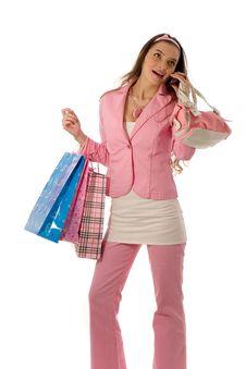 Holiday Shopping Royalty Free Stock Photo