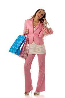 Free Holiday Shopping Royalty Free Stock Image - 3817606