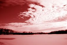 Free Blooded Sky Stock Photography - 3818432