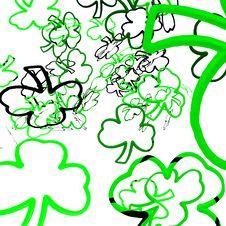 Free Shamrock Confetti Stock Images - 3818694