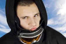 Free Snowboard Boy Acting Bad Stock Images - 3819524