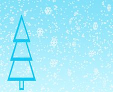 Free Green Blue Winter Design Stock Photography - 3819742