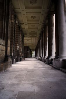Free Royal Naval College, Greenwich, London, UK Stock Photos - 3819873
