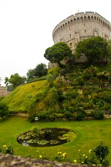 Free Windsor Castle Near London Stock Image - 38105461