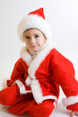 Free Baby Santa Stock Photography - 3821602