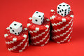 Free Dice & Chips Stock Photo - 3822530