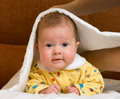 Free Baby In Blanket Stock Image - 3824801