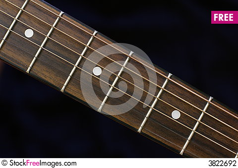 Free Guitar Neck Stock Photography - 3822692