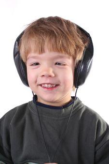 Free Boy In Headphones Stock Image - 3820781