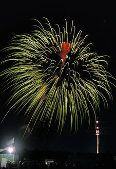 Free Firework In Vienna No.4 Royalty Free Stock Photography - 3820837