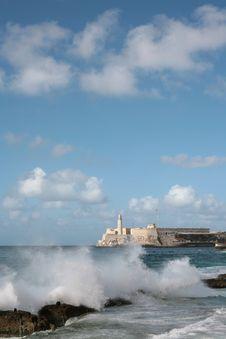 Free Castle In Havana Stock Photo - 3821400