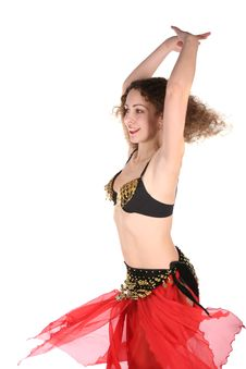 Free Bellydance Girl Stock Photography - 3821532
