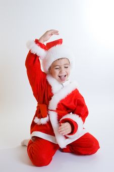 Free Baby Santa Royalty Free Stock Photos - 3821618