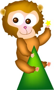 Giant Monkey Royalty Free Stock Photography