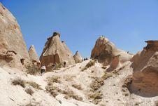 Free Hiking In Cappadocia Royalty Free Stock Image - 3822066