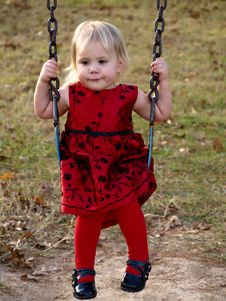 Free Girl On Swing Royalty Free Stock Photo - 3822575