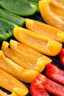 Free Capsicums Royalty Free Stock Image - 3822806
