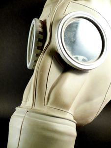 Free Gas Mask Royalty Free Stock Images - 3823419