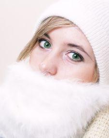 Free Closeup Of Young Beautiful Girl, Royalty Free Stock Image - 3823756
