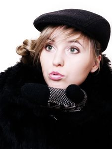 Free Closeup Of Young Beautiful Girl Stock Image - 3823851