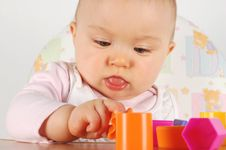 Free Baby Having Fun Stock Images - 3824184
