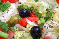 Free Diet Salad Royalty Free Stock Photography - 3824337