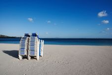 Free Beach Couches Royalty Free Stock Image - 3825576