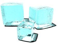 Free Ice Cubes Royalty Free Stock Image - 3826396