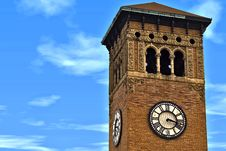 Free Clock Tower Royalty Free Stock Photography - 3826857